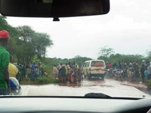 タンザニアからケニアに移動中の車内より