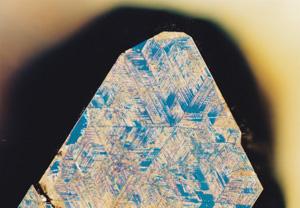 図4 (b)樹枝状模様がみられる高圧合成ダイヤモンド表面。