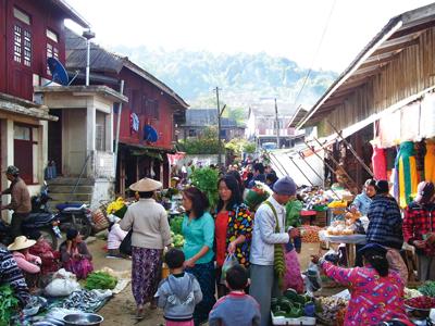 Bamardmyoのマーケット