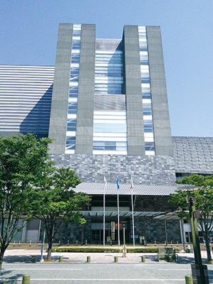 写真1:会場となったGRANSHIP (静岡コンベンション&アーツセンター)
