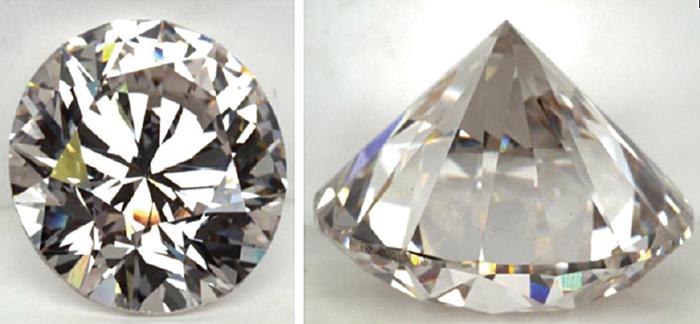 Fig.5–1: 3.09ctのCVD合成ダイヤモンド(HRD Antwerp HPより)