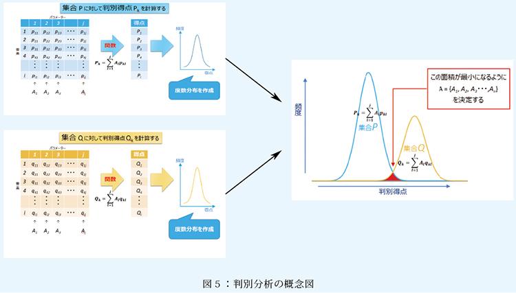 図5:判別分析の概念図