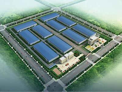 Fig.7工場の鳥瞰図(図版提供:河南省力量钻石股份有限公司)