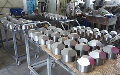 Fig.20製造されたアンビル製品