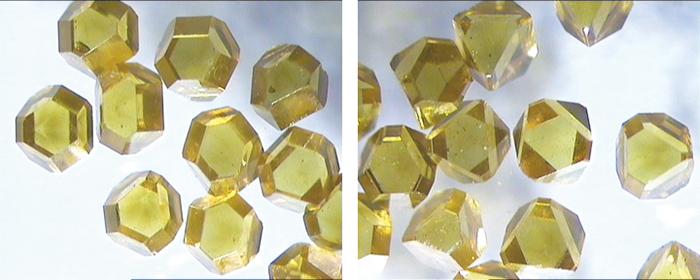 図10.中南の1–2mmのIb型ダイヤモンド