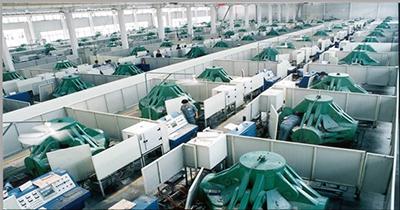図2.ある会社のダイヤモンドの合成生産現場の写真
