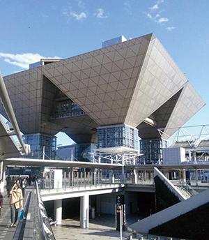 第28回国際宝飾展の会場となった東京ビッグサイト