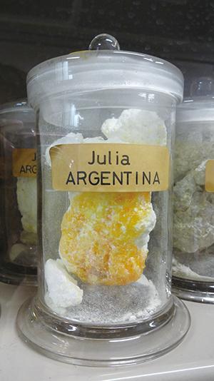 充実した硫黄標本3