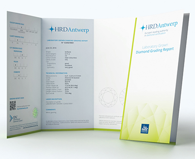 HRDのグレーディングレポート:合成用