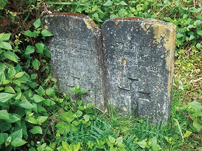 図11.Shwe Tharyar Villageの英兵の墓