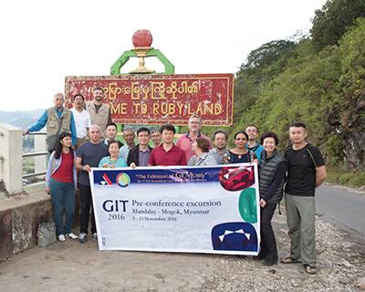 図2.Pre–Conference Excursionに参加したメンバー