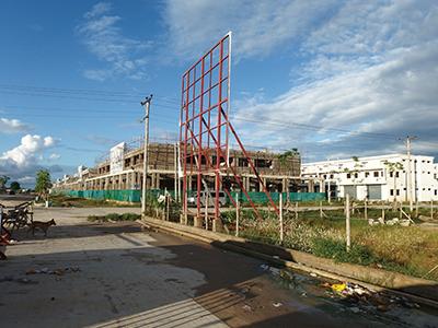 図4.建設中のJade Market