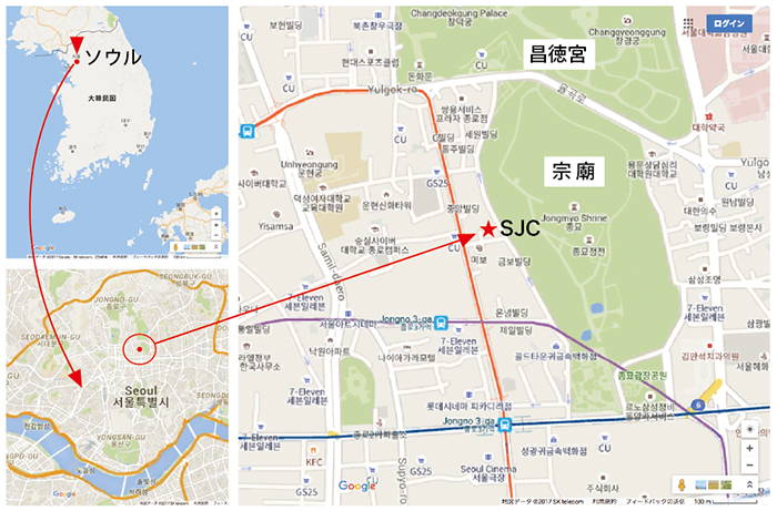 Seoul Jewelry Industry Support Center周辺 の地図