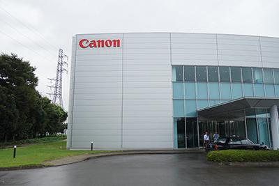 写真3:茨城県結城市のキヤノンオプトロン株式会社