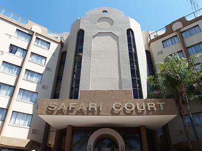 会場の1つとなったSafari Court Hotel