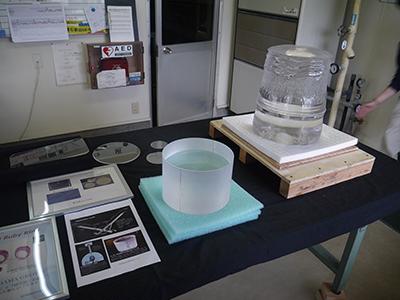 写真12–2 ルビカ工業で制作された合成コランダムの結晶