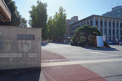 会場となった山形大学