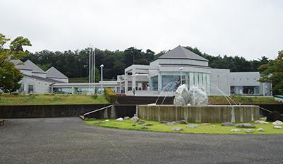 写真1:フォッサマグナミュージアム外観