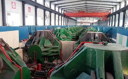図9:中国大手製造会社の高圧合成装置