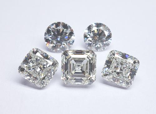 図10:インド製CVD合成ダイヤモンド(2–4 ct)