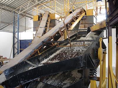 図17:キントス鉱山のプラントの一部