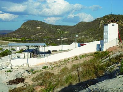 図9:ハニアリー氏の鉱区外壁