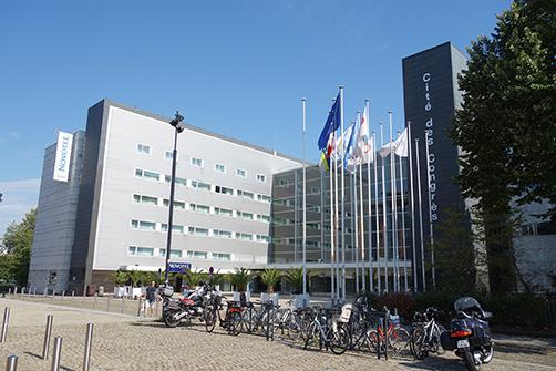 第36回IGCの開催場所となった「Nantes Cité des Congrés」