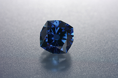 After treatment and cutting: 1.86 ct